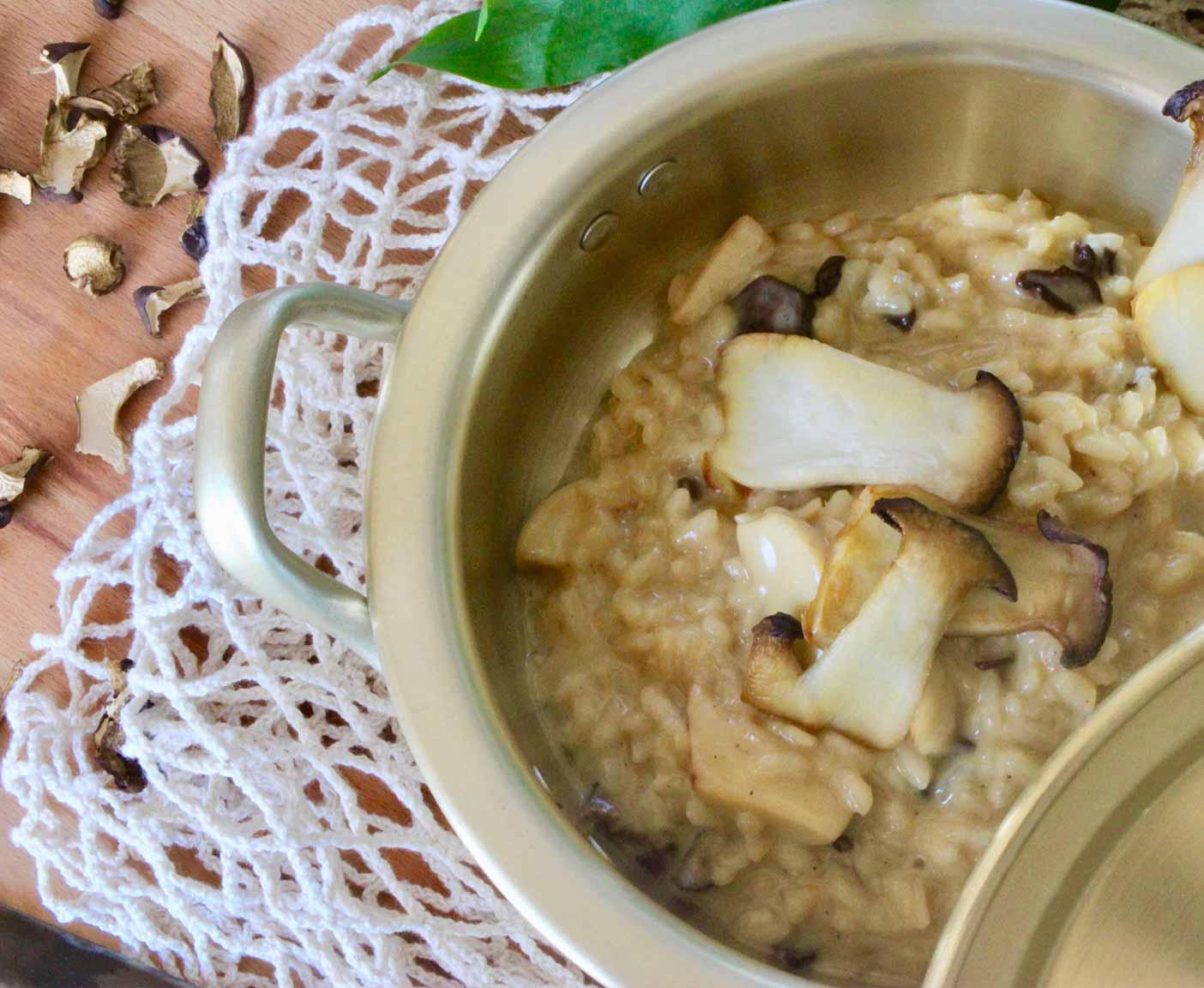 Risotto-Kartoffelsuppe-herbst-rezepte-einfach-vanlife-camping-kueche-fleisch-vegetarisch