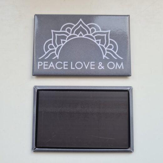 Magnet Peace Love & Om