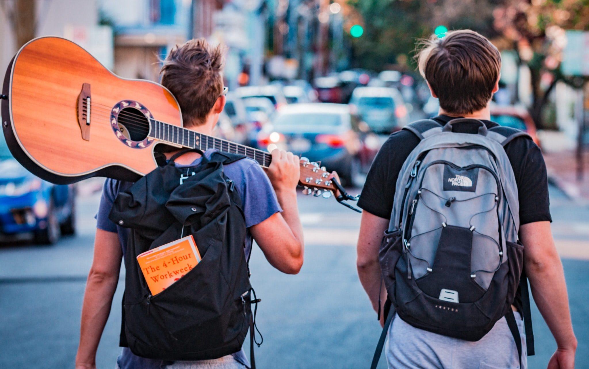 Peace Love Om Reisen ist kein Urlaub Backpacking