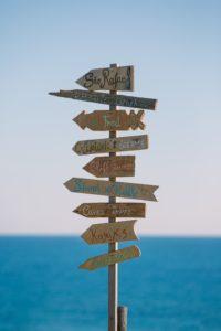 Peace Love Om Reisen ist kein Urlaub Wegweiser