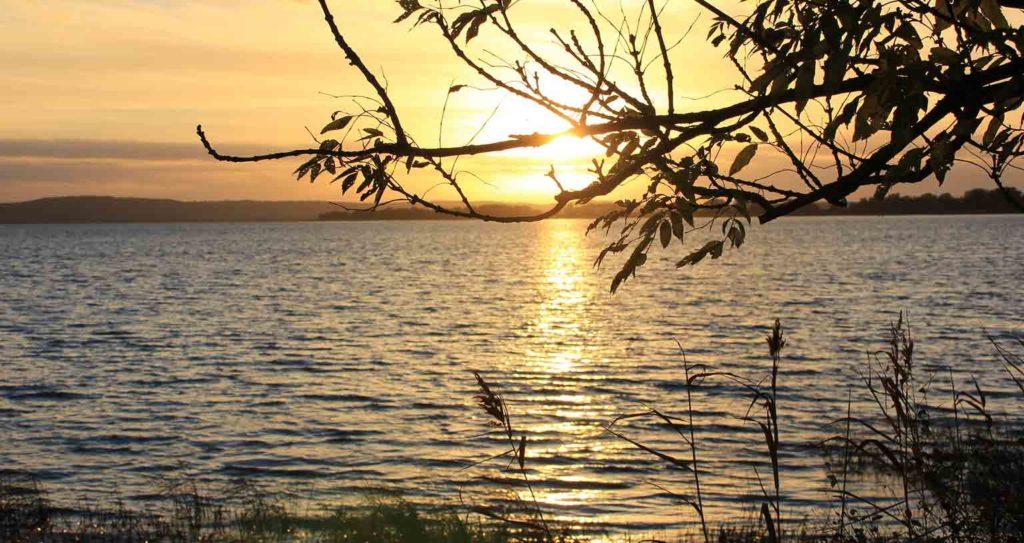 Peace Love Om Reiseland Deutschland Mecklenburgische Seenplatte Sonnenuntergang